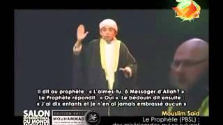 الداعية صغير مسلم سعيد في خطبة عن رسول صلى الله عليه وسلمmuslim said