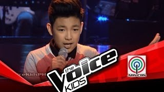 """getlinkyoutube.com-The Voice Kids Philippines Blind Audition """"Domino"""" by Darren"""