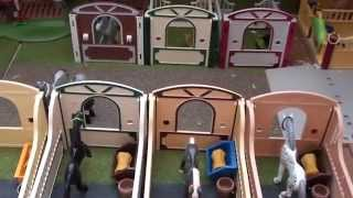 getlinkyoutube.com-Rondleiding manege ~ Playmobil Wereld