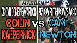getlinkyoutube.com-Madden 15 Ultimate Team | 98 OVR Combine Warrior Colin Kaepernick or 97 OVR Throwback Cam Newton? |
