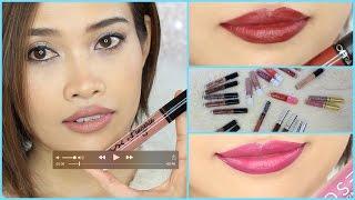 getlinkyoutube.com-เปิดกรุ | My Liquid Matte Lipstick Collection