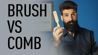 getlinkyoutube.com-Beard Brush vs Beard Comb | Carlos Costa