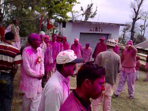 Our Holi Celebration at Panthuri (Pithoragarh)
