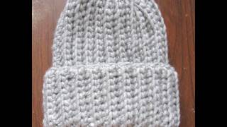 getlinkyoutube.com-Crochet Ribbed Hat
