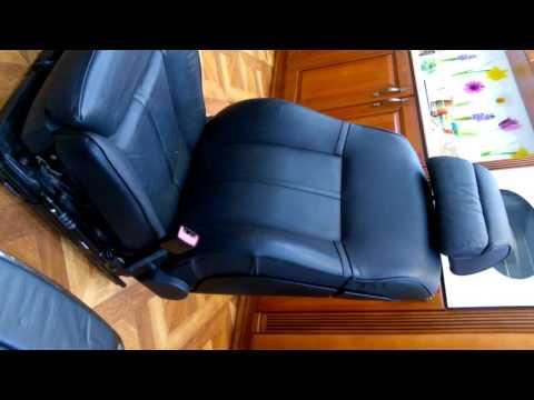 Подключение сидений бмв е65