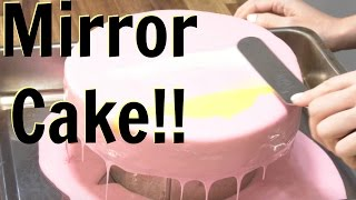 getlinkyoutube.com-How To Make A MIRROR GLAZE CAKE!- CAKE STYLE