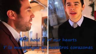 getlinkyoutube.com-The Prayer - David Archuleta & Nathan Pacheco (Lyrics) INGLES-ESPAÑOL