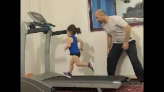 getlinkyoutube.com-Arat treadmill Running Arat GYM