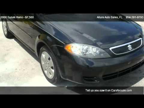 Windham Motors Florence >> 2008 Suzuki Reno Problems, Online Manuals and Repair Information