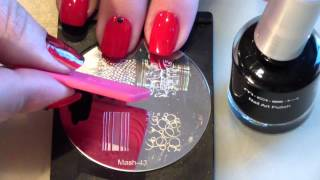 getlinkyoutube.com-Supertruco para estampar en uñas/ Stamping nails cute trick