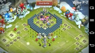 Castle Clash - HBM P ( TH 16 - No Towers )