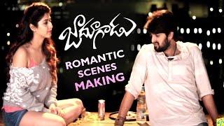 getlinkyoutube.com-Jadoogadu Movie Romantic Scenes Making | Naga Shourya | Sonarika Bhadoria | Kota Srinivasa Rao
