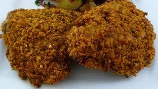 getlinkyoutube.com-Crispy Oven-fried Chicken
