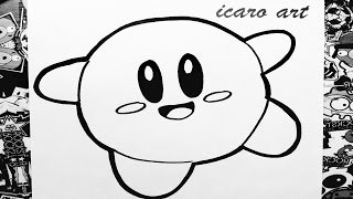 getlinkyoutube.com-Como dibujar a kirby | how to draw kirby