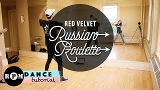 "getlinkyoutube.com-Red Velvet ""Russian Roulette"" Dance Tutorial Part 1 (1st and 2nd Chorus)"