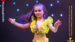 getlinkyoutube.com-2015 World Belly Dance Festival - Children Solo Category, 2nd Runner-up, Ma Xuan Ying