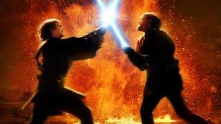 getlinkyoutube.com-Darth Vader VS Obi Wan Kenobi // Дарт Вейдер против Оби-Вана Кеноби HD