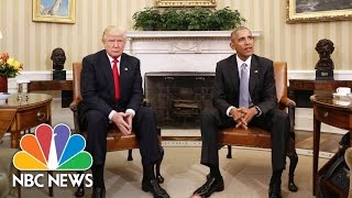 President Obama on President-elect Trump's Victory: 'There Was Just Surprise' | NBC News