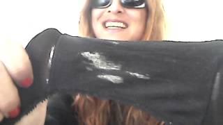 getlinkyoutube.com-✿Used Panties Daily✿ - Slip 'n Slide's Dirty Panty Gusset