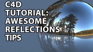 getlinkyoutube.com-Cinema4D Tutorial: Awesome Reflections Tips (Beginner)