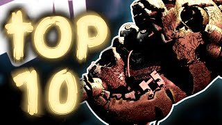 Top 10 Secrets Of Fazbear Fright: The Horror Attraction || Five Nights At Freddy's 3