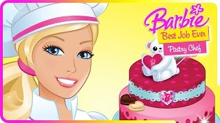 getlinkyoutube.com-Newbie play Barbie Pastry Chef (and how to play this game for the first time)