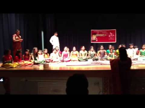 Sanjana chorus song for Carnatic brothers show