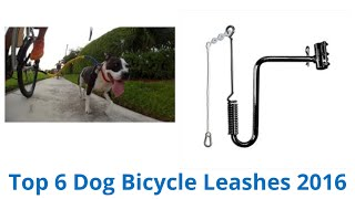 6 Best Dog Bicycle Leashes 2016