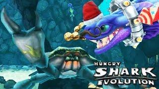 Hungry Shark Evolution - Alan, DOW vs Giant Black Crab
