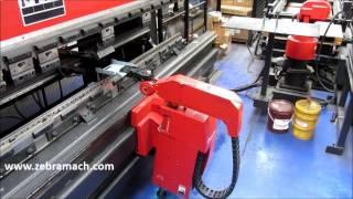 getlinkyoutube.com-Amada Astro Robot 100 NT HDS 1030 Pressbrake