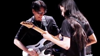 getlinkyoutube.com-Steve Vai - Master Class em BH - Jam Session - Brazilian Guitar Players - 30.06.2015