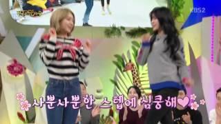 getlinkyoutube.com-170109 AOA Choa & Hyejeong Excuse Me @ KBS Hello Counselor - Link In Description