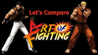 Let's Compare ( Art of Fighting )