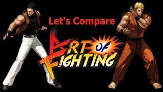getlinkyoutube.com-Let's Compare ( Art of Fighting )