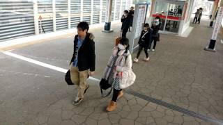 京葉線舞浜駅アナ雪の駅メロ2番線