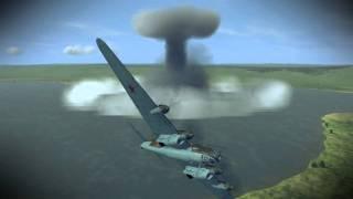 getlinkyoutube.com-IL-2 Sturmovik 1946 | Nuke Mod - Pe-8