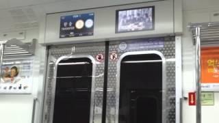 getlinkyoutube.com-서울도시철도 5호선 상일동행 개화산 - 김포공항 주행 (502편성)