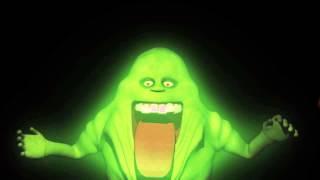 getlinkyoutube.com-Halloween Projection Green Ghost