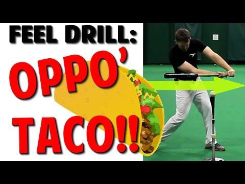 Baseball Hitting Drill | Hitting to the Opposite Field (Pro Speed Baseball)