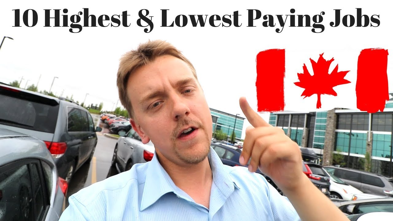 10 Highest and Lowest Paying Jobs in Canada