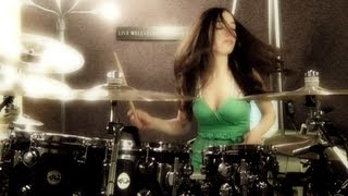getlinkyoutube.com-AVENGED SEVENFOLD - NIGHTMARE - DRUM COVER BY MEYTAL COHEN