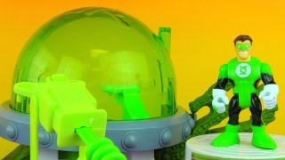 getlinkyoutube.com-Imaginext Green Lantern Planet OA B'dg Kilowog Green Lantern