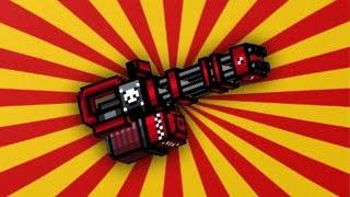 getlinkyoutube.com-Pixel Gun 3D - Automatic Peacemaker M3 [Review]
