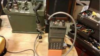 getlinkyoutube.com-Field Demo W/Mods, A/N GRA-39B, U.S. Army Surplus Radio Remote Control Set, Part 2, Final Summary.