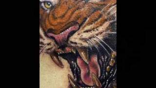Beautiful Tiger Tattoos.wmv
