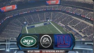 getlinkyoutube.com-Madden NFL 16 - New York Jets vs New York Giants Gameplay [ HD ]