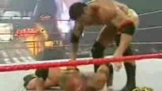 getlinkyoutube.com-Randy Orton vs Batista - www.eswrestling.com -