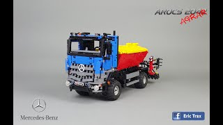 getlinkyoutube.com-Mercedes Arocs 2042 in lego version by Eric Trax