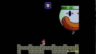 getlinkyoutube.com-Super Mario World (SuperNES) - Mundo 7 Ultimo Chefe e Final