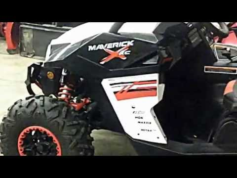 Canam maverick 1000r xxc walk around